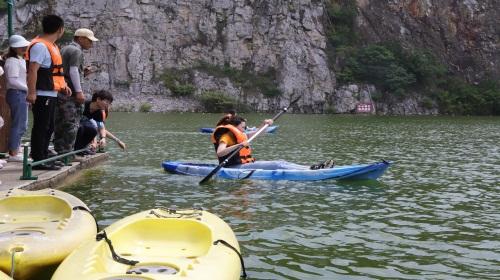 拓展培训:海钓与皮划艇激情,沙滩和海水的碰撞,尽在舟山~